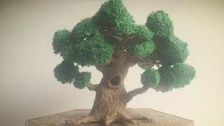 3D Pen Creations | Making a realistic tree | 3D Pen Art