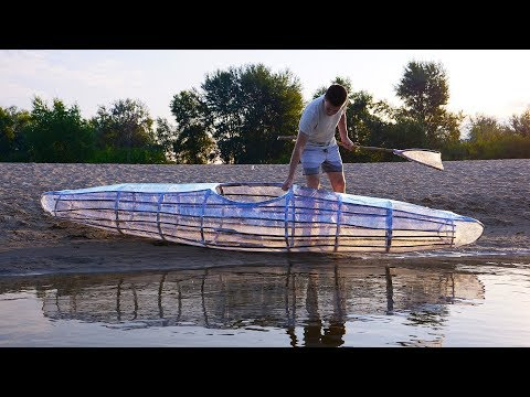 How to Make a Kayak with Basic Supplies
