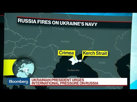 Russian Ships Fire on Ukraine's Navy in Renewal of Tensions