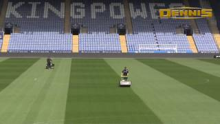 Leicester City FC Choose Dennis G860 Mower