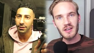 PewDiePie Says the N Word, Vlogger Has THREESOME? FouseyTUBE Gets Hair, YouTuber STALKED