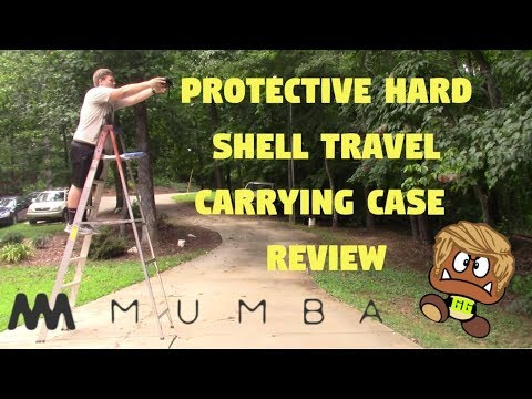 Mumba Protective Hard Shell Travel Carrying Case REVIEW!