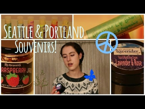 Video Seattle and Portland Souvenirs ✌︎