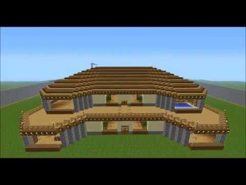 Che ne pensate della mia villa in minecraft yahoo answers for Planimetrie della mia villa