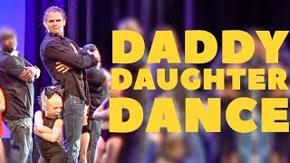 EVERLEIGH AND COLE PERFORM CUTEST DADDY DAUGHTER DANCE ON STAGE!!!