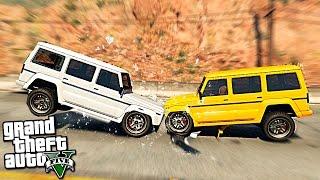 GTA 5 моды - Реалистичные повреждения - Краш тест в GTA 5!