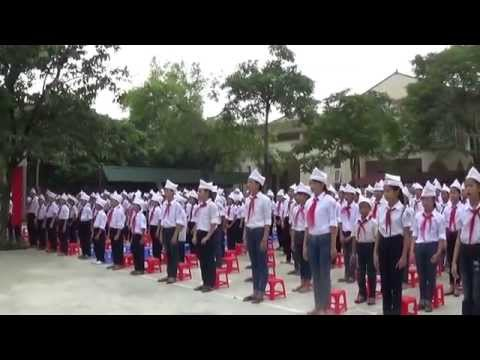 Ngày đầu tuần của Trường THCS Kim Sơn
