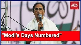 """Modi's Days Are Numbered:"" Mamata Banerjee Takes Centrestage At Kolkata Opposition Rally"