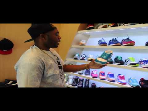 Sneaker Shopping with Bigg Shank
