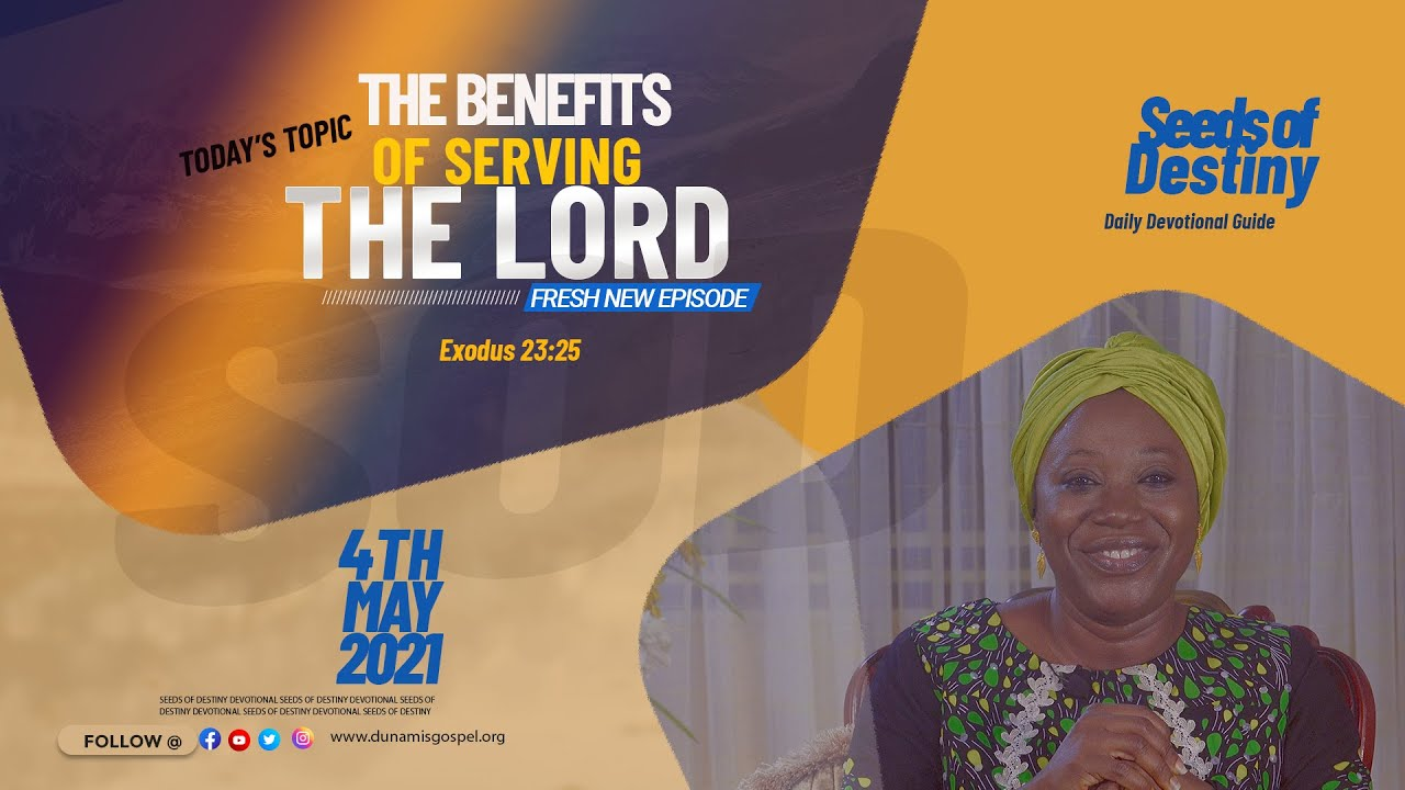Video: Seeds of Destiny 4 May 2021 Devotional by Dr Becky Paul-Enenche