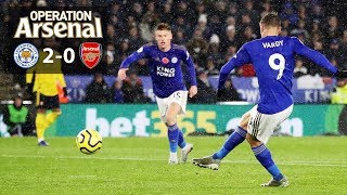 A VERY BAD EBENING. | LEICESTER 2-0 ARSENAL
