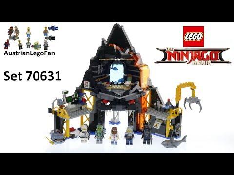 Vidéo LEGO Ninjago 70631 : Le repaire volcanique de Garmadon