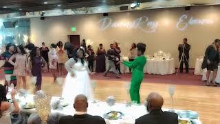 Finally Finley AKA Stroll Wedding Monogram Birmingham Wedding DJ Wipe Me Down Club M