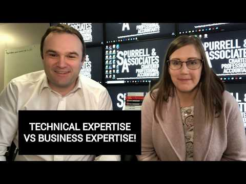 Technical Expertise Vs Business Expertise