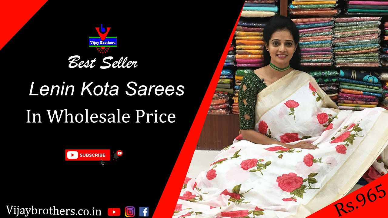 "<p style=""color: red"">Video : </p>Latest Lenin Kota Sarees Collections