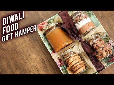 How To Make DIWALI FOOD GIFT HAMPER | DIY Gift Hamper | Festive Hamper By Bhumika