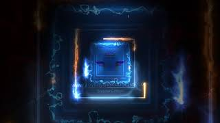 Animated Neon Video Background Template - Saber Lighting Frame template | neon background effect HD