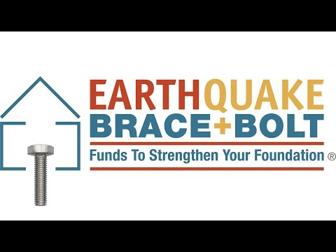 Earthquake Brace & Bolt Program....Saber is a FEMA Bolt and Brace registered Contractor!!!!
