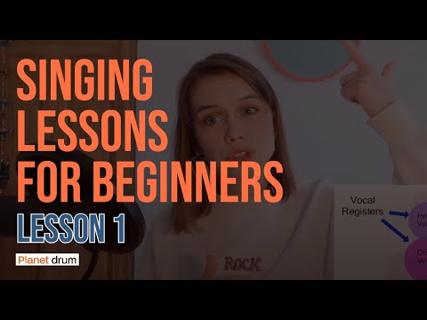 Singing lessons for beginners (How to start singing, Lesson 1)