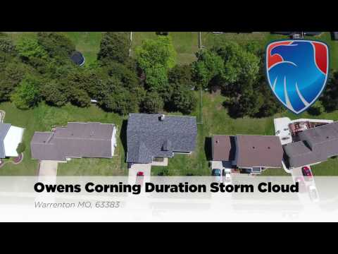 We replaced this Warrenton MO roof with a new Owens Corning Duration Storm Cloud roof. The homeowners could not have been happier with the entire proess. We worked with their insurance company and got the new roof approved by the insurance company.
