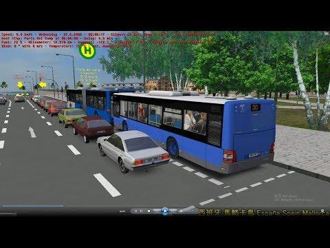 Omsi 2 tour (1564) 西班牙 Mallorca Line 30 Plaza d Espanya - Sant Joan @ EMT Man Lion's City A37
