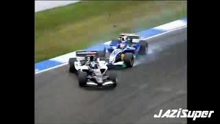 F1 2005 crashes