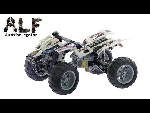 Vidéo LEGO Technic 8262 : Le quad
