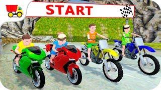 Bike Racing Games - Kids MotorBike Rider Race 2 - Gameplay Android free games
