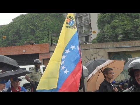 En Venezuela se vivió otra jornada de protesta contra la dictadura
