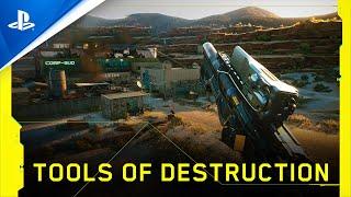 Cyberpunk 2077 - Tools of Destruction   PS4