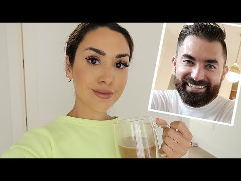 MY HUSBAND DOES MY VOICEOVER | ALEX AND MICHAEL VLOGMAS