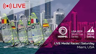 Olympics: Saturday medal races live from Miami – 2019 Sailing World Cup Series