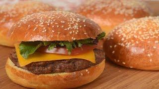 Brioche Hamburger Buns Recipe Demonstration – Joyofbaking.com