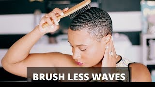 How To Get Brush Less Waves!