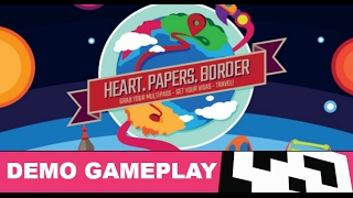 Heart. Papers. Border. video - Gameplay video