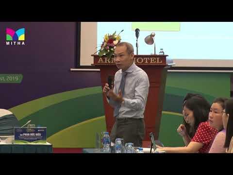 Hội nghị Doanh nghiệp Xã hội và Phát triển bền vững 2019 - Ông Phan Đức Hiếu