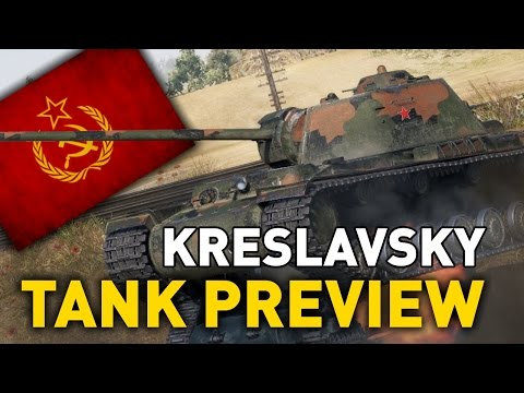 World of Tanks || KV-4 Kreslavsky - Tank Preview