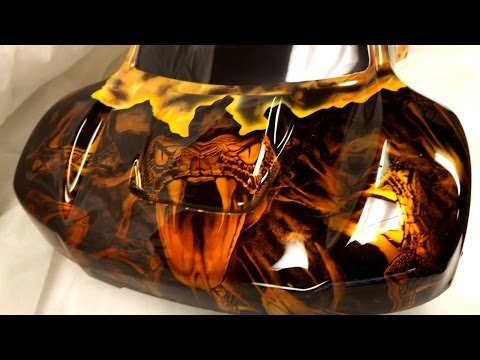 Pitdawg  Hydro RC Bodies Vol. 10 CUSTOM Hydro dipped airbrush graphics
