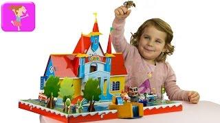 Замок Киндерино продолжение заселяем город профессий kinder professions