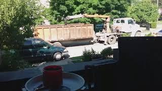 Junk pickup day, Louisville, KY