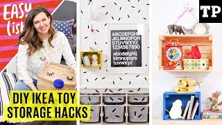 5 DIY IKEA toy storage hacks | Easy(ish) S02E01