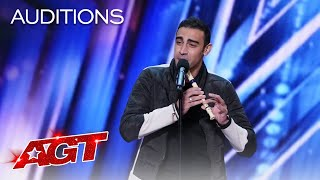 Medhat Mamdouh Beatboxes While Playing The Recorder - America's Got Talent 2021 thumbnail