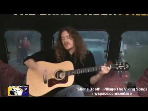 Shane Booth - Pillage - The Viking Song - Phoenix Park - Dublin - The Band Wagon TV - 12th Dec 09