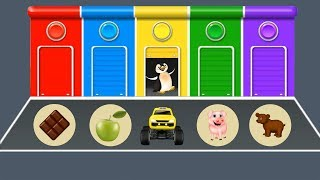Learning Color with Car   Learn Number for Kids   Learn Color with Object   Education Video for Kids