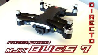 Presentacion en Directo MJX Bugs 7, el nuevo drone de 250 gramos