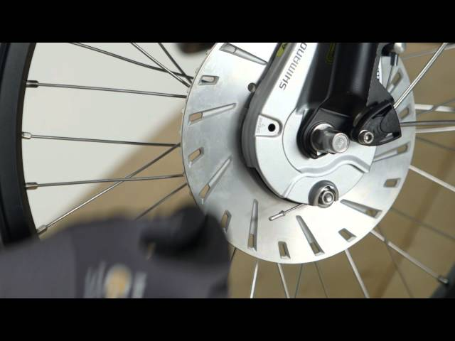 Видео Тормоз роллерный задний Shimano BR-C3000-R Nexus, ротор 122 мм