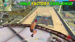 Ajjubhai94 Only Factory Roof Challenge with Factory King Romeo and Desi Gamer - Garena Free Fire