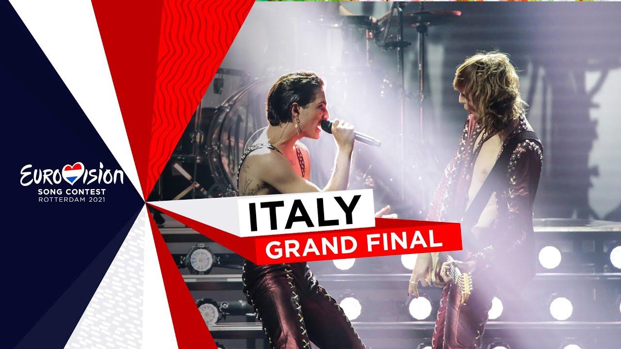 Actuació de Måneskin (Itàlia) guanyadora d'Eurovisió 2021
