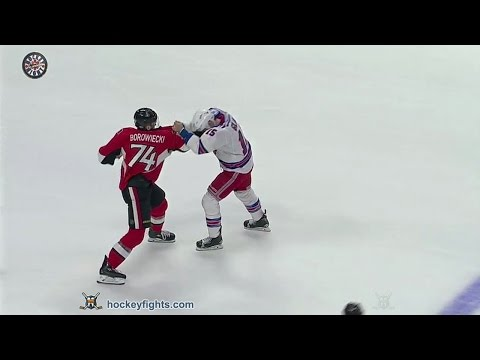Mark Borowiecki vs. Tanner Glass