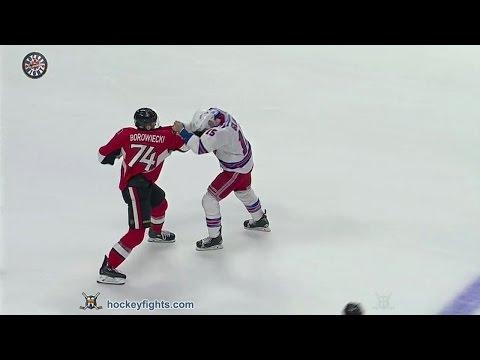 Tanner Glass vs Mark Borowiecki